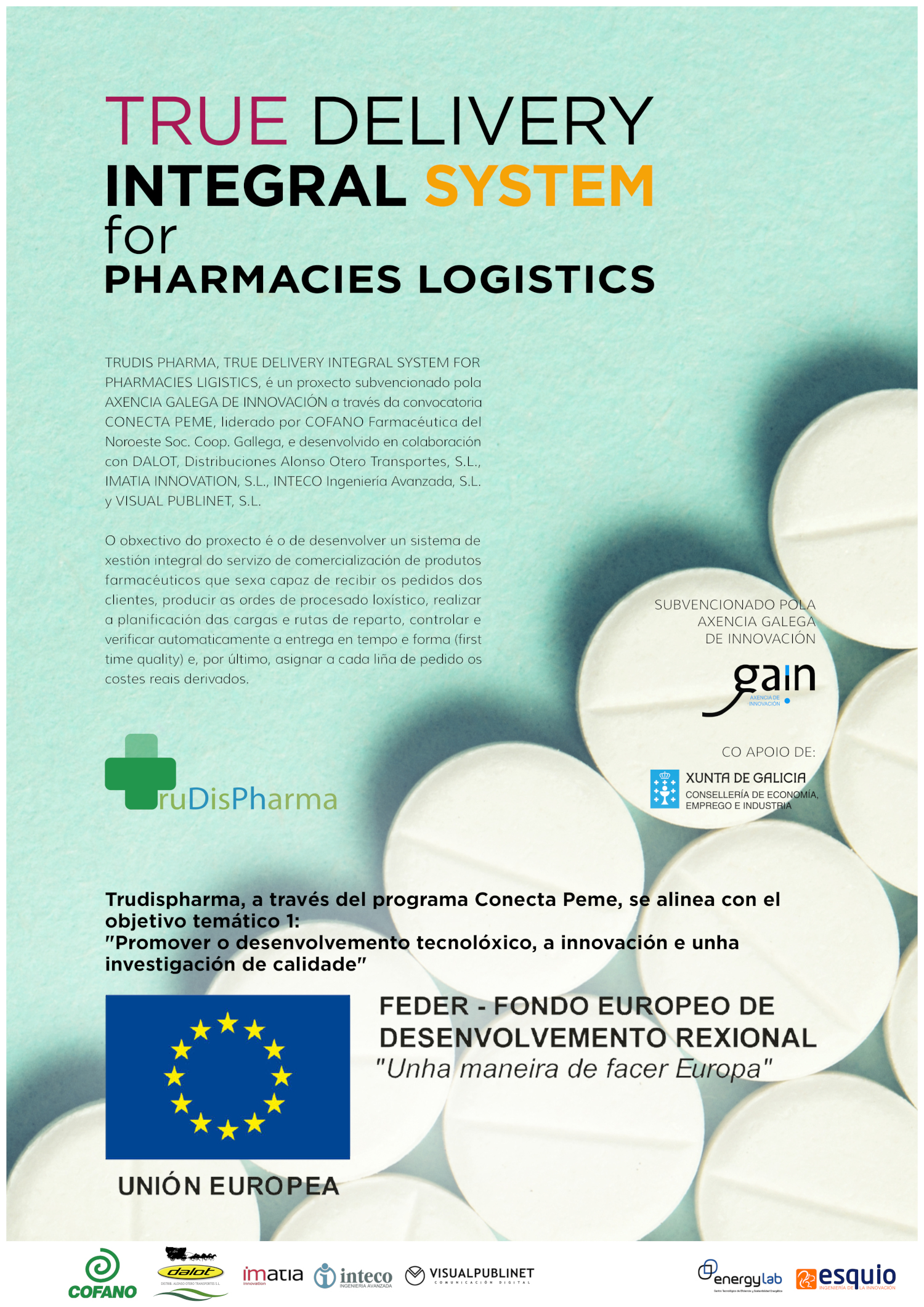 Jornada de presentación de resultados Trudis Pharma