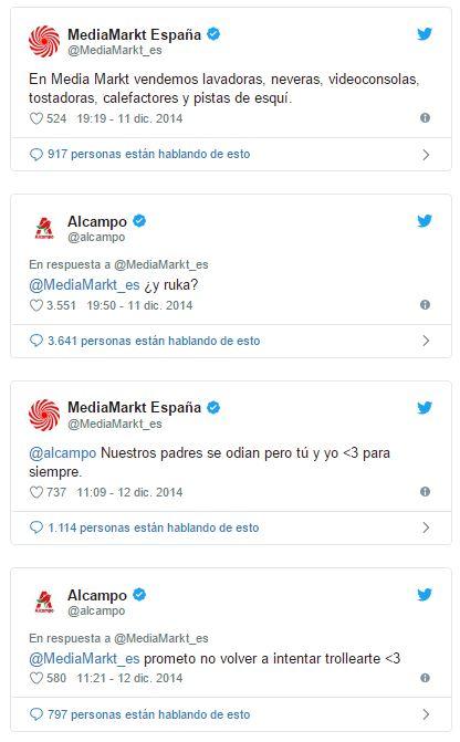 Community Alcampo y Media Markt