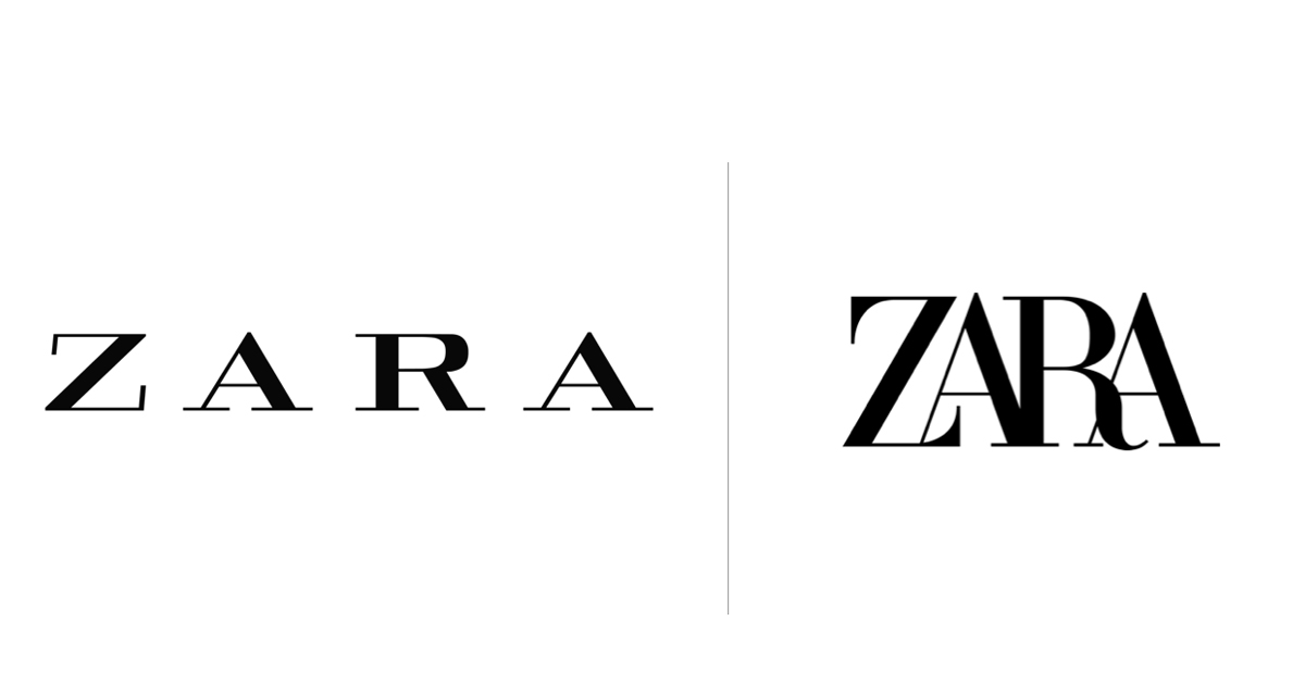 El nuevo logo de Zara