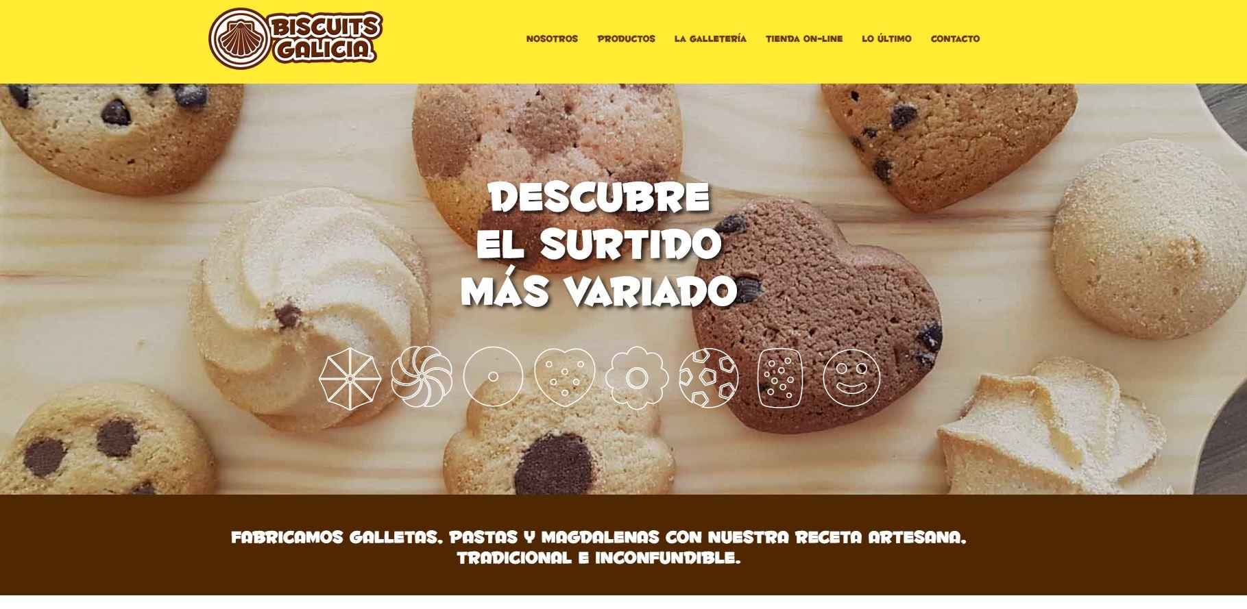 Tienda online biscuits galicia
