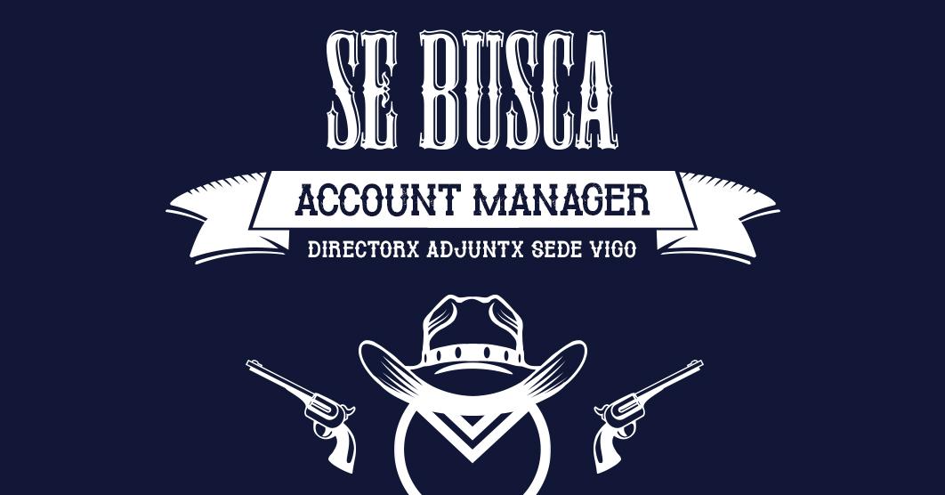 Oferta de Empleo Account Manager