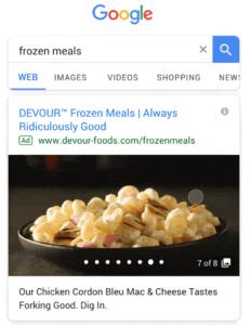 Google Gallery Ads Ejemplo